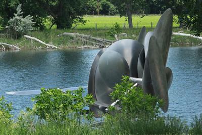 Floating Sculpture @ Kearney, Nebraska [Highway 80 Rest Stop]