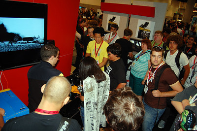 Build a PC competition being done by Antec, pretty fun at the Future booth, we got tons of free swag