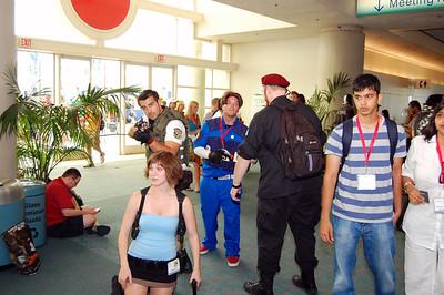 Some Resident Evil action