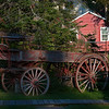 Our Old Buckboard, Early Morning in Copper Harbor, a village (settlement really) of less than 100 permanent residents, located at the End of the World as we know it.