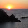 Pacific Ocean sunset....