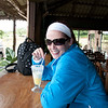 "Pineapple juice break. <br /> <br /> On the ""road""  from Arenal to Monte Verde, Costa Rica, 2011. Crossing Lake Arenal and then 4x4's to Monte Verde Lodge."
