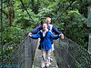 Dustin and I on the third suspension bridge.
