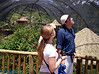 me and the tour guide Jose #1 looking at a bird.