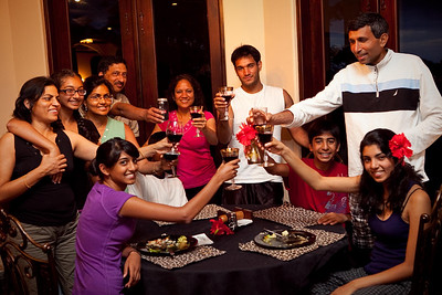 Wine Party at Richa's birthday