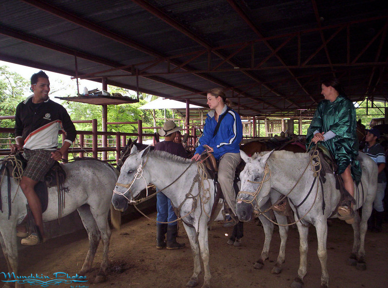 Me on a horse. This was not a trail ride for beginners, there was trotting and galloping involved.