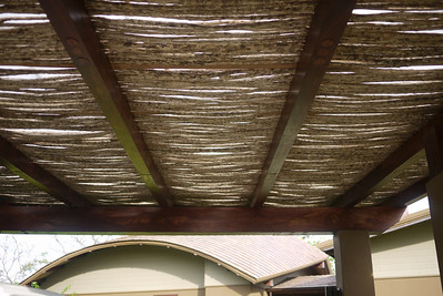roof of the carport
