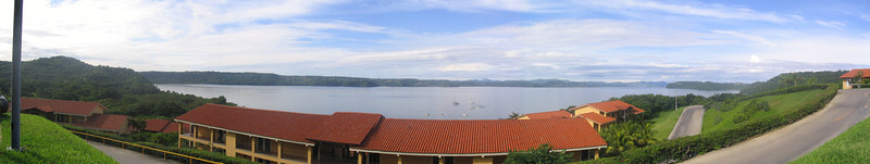 Panoramic veiw of our resort. the Allegro Papagayo, on the Papagayo Coast of Guanacate, Costa Rica.