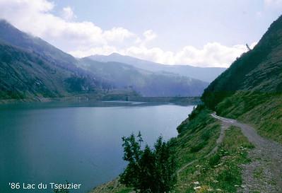 Lac du Tseuzier 1986