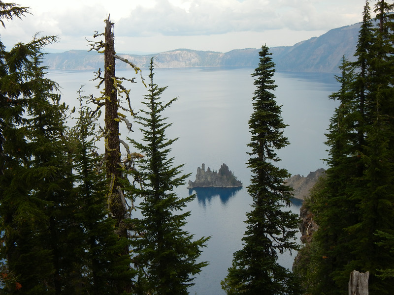 Phantom Ship Island created with the first explosion of Mt. Mazama