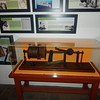 The original depth finder made with piano wire.  The first measurement was 1999 ft.  It is 1943 ft measured by sonar