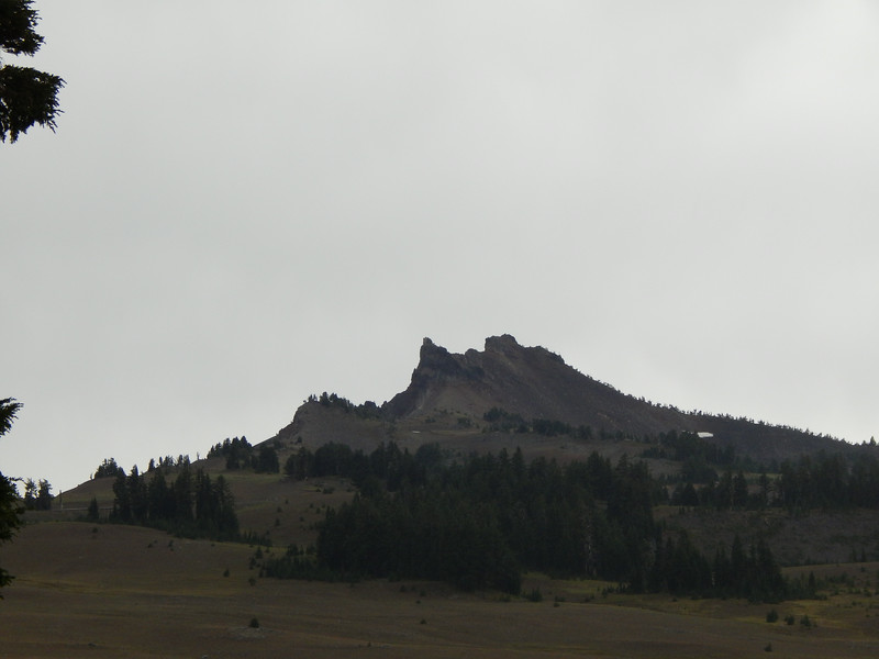 Rock formations above Crater Lake