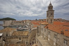 Dubrovnik marina from the city walls