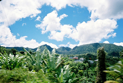 Mountains in Grenada