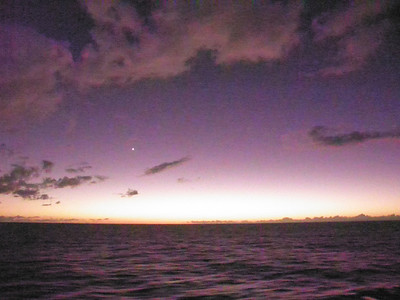 Venus after sunset