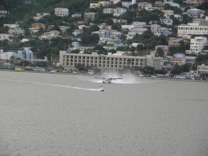 Water takeoff