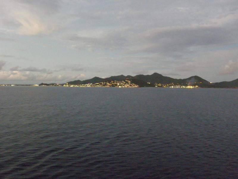 Looking towards Simpson Bay