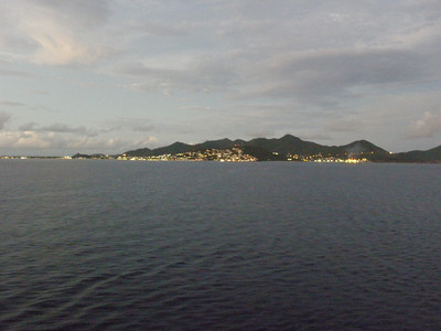 Looking towards Simpson Bay