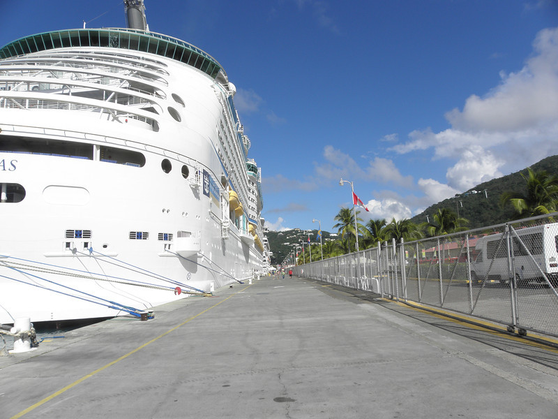 Docked at Charlotte Amalie