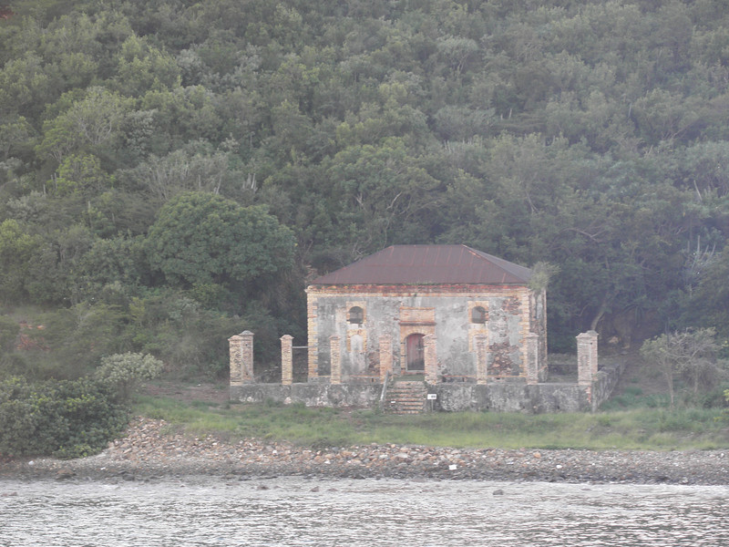 Hassel Island building