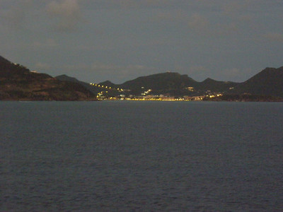 St Maarten at night