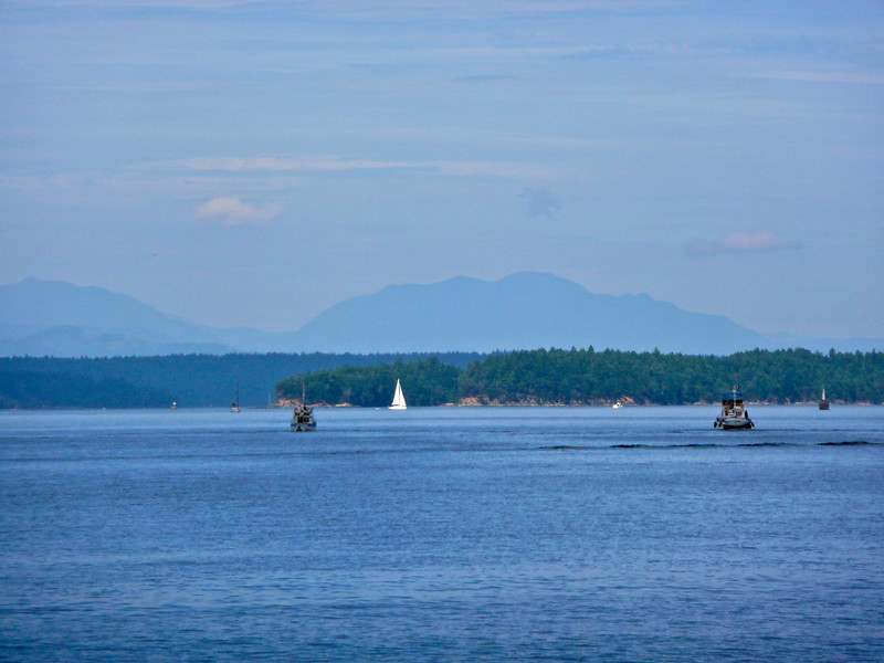 Houstoun Passage, between Saltspring Island and Kuper Island