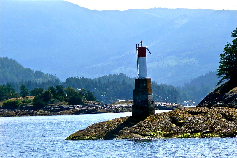 Red Right Returning - Pender Harbour