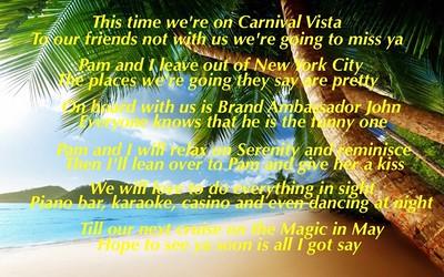 Cruise November 2016 - Carnival VIsta