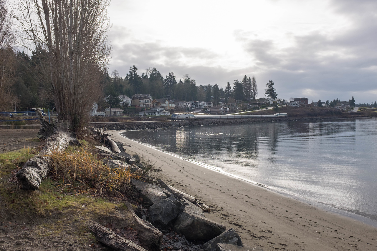 Steilacoom Washington  Sunnyside Beach