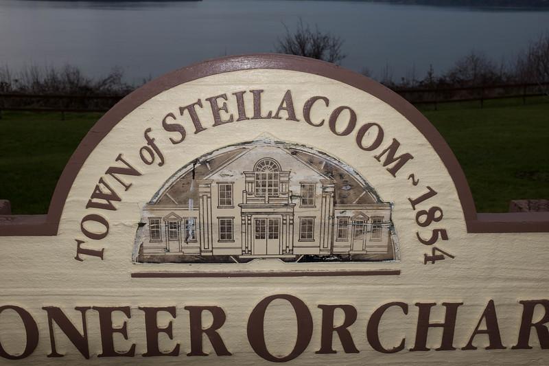 Steilacoom Washington  Pioneer Orchard Park