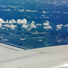 Over Key West Naval Air Station for Cuba Birding Trip