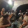 Joni Ellis with Horizontal Sextete; [four] @ Castillo de Las Nubes, Soroa