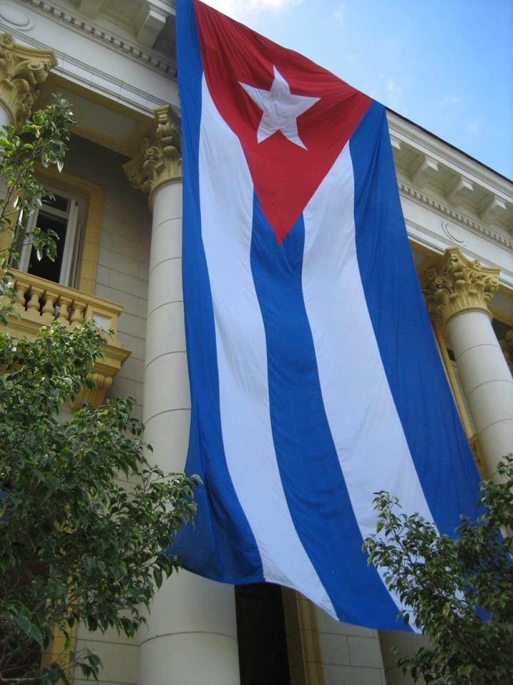 Cuban flag