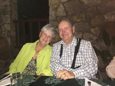 MaryAnne & David @  Castillo de Las Nubes, Soroa