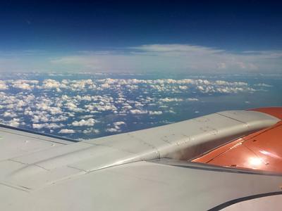 Over Marcos Island, Florida for Cuba Birding Trip