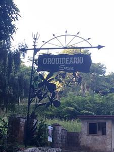 Orquideario de Soroa Entrance Signage