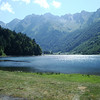 Lac d'Estaing. Our first destination.