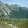 The view of the Col d'Aubisque from the top of the Col du Soulor. Breathtaking.