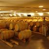 A few of the 800 barrels of wine.