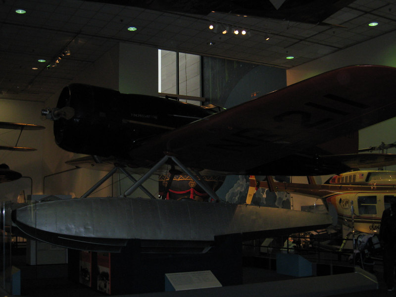 one of Lindbergh's planes