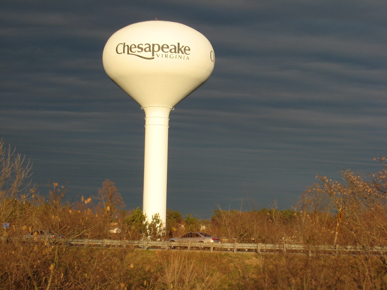 Entering into the city of Chesapeake