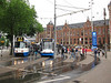 Tram stop at Centraal Station
