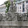 Lovely statue in Budapest