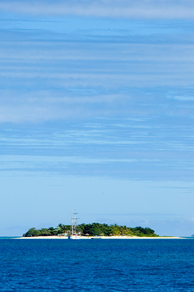 Small islet in the Mamanuca group, one of many perfect little islands in that group.