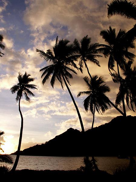 Sunrise on the morning we left Lalati Resort and Beqa Island (sniff).