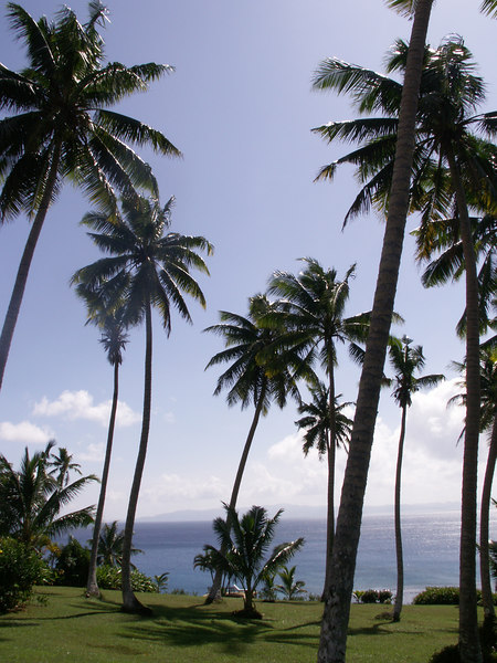 View from our bure at Makaira by the Sea, Taveuni.