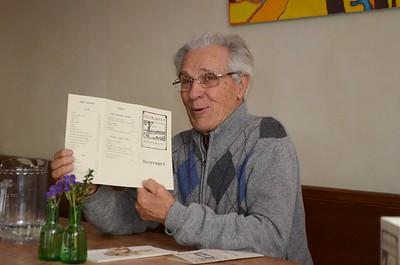 The beverage menu of the Gunk Haus