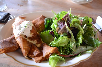 Ed's lunch - some ham crete dish