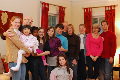 Wendy, Rachel, Eric, Tenny, Faith, Amanda, Debbie, Wally, Kathy, Franny, Karen, Steve and Julia in front