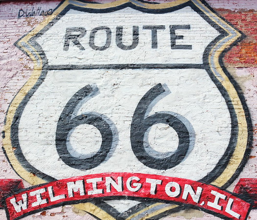 Route 66 Mural Wilmington Illinois